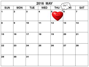 May2016CalendarOle
